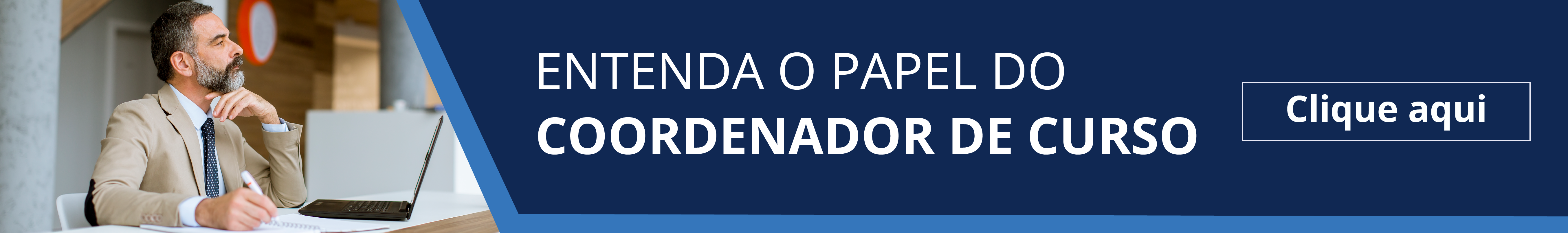Entenda o papel do coordenador de curso