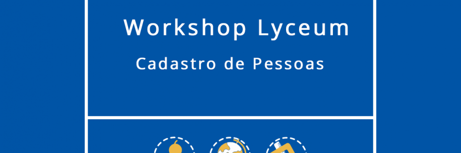 Workshop Lyceum - Cadastro